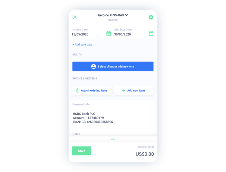 Free Fiskl invoices app